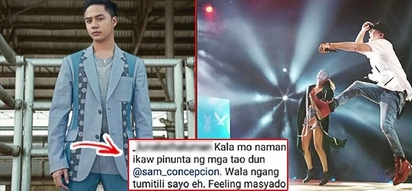 "Sam Conception strikes back, engages in word war with Instagram basher calling him ""laos"" and ""starlet"""