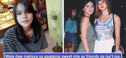 Di sila talo! Maris Racal bluntly denies existence of 'lesbian' relationship with Sue Ramirez