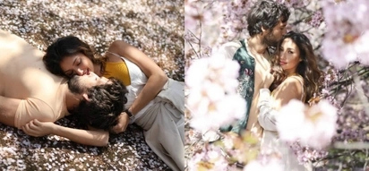 Solenn Heussaff and Nico Bolzico had an intimate moment in Japan