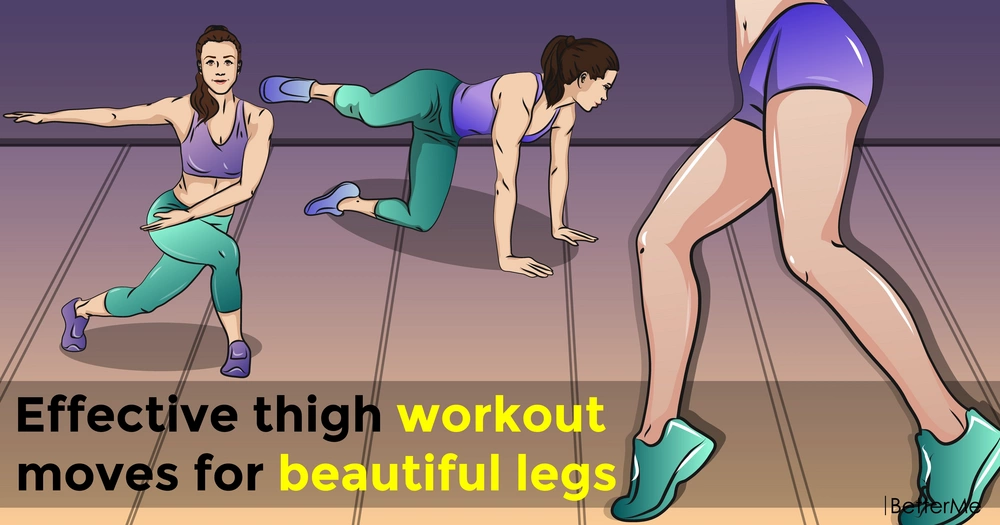 Effective thigh workout moves for beautiful legs
