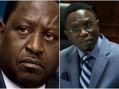 Raila Odinga belittles Ababu Namwamba,calls him a 'nobody'
