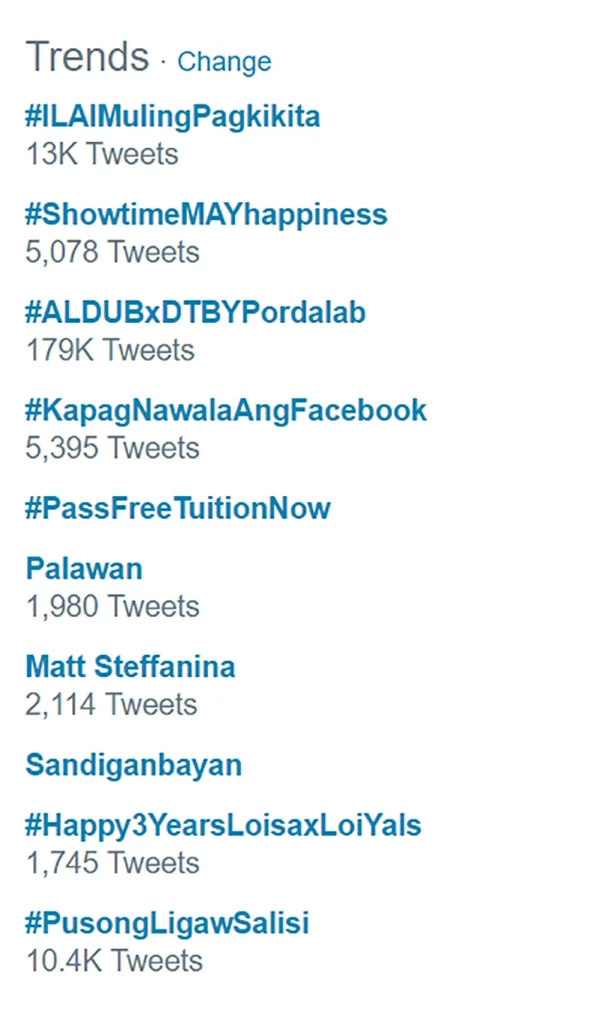 Kimerald Fever is Still On Fire. Check Out These Tweets as Ikaw Lang Ang Iibigin Lands Top 1 Most Tending Topic in Twiiter #ILAIMulingPagkikita
