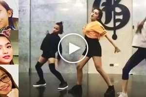 AC Bonifacio, Andrea Brillantes & Awra Briguela engage in the most epic dance showdown yet! Sino ang the best?
