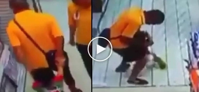 Kawawang bata: Innocent Asian child suffers brutal injury while playing with dad at the mall