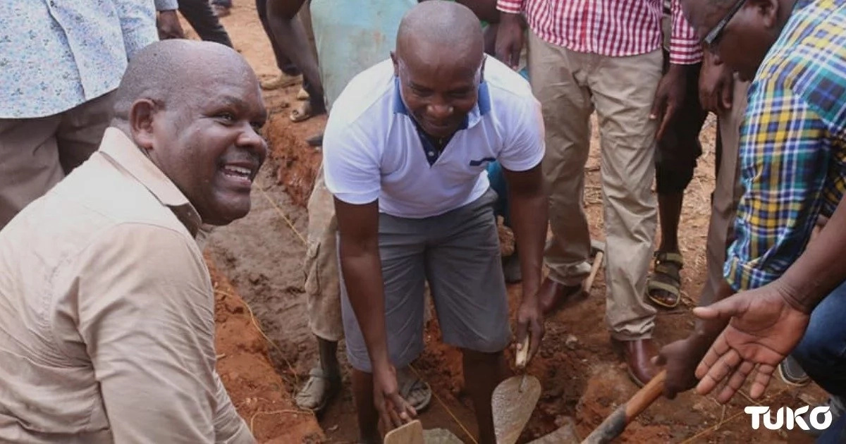 Tharaka Nthi senator, Kindiki Kithure, under fire for putting up mud-walled classroom