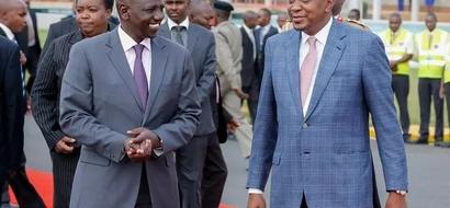 Ziara ya Rais Uhuru yanoga huku Ruto akizidi kufedheheshwa