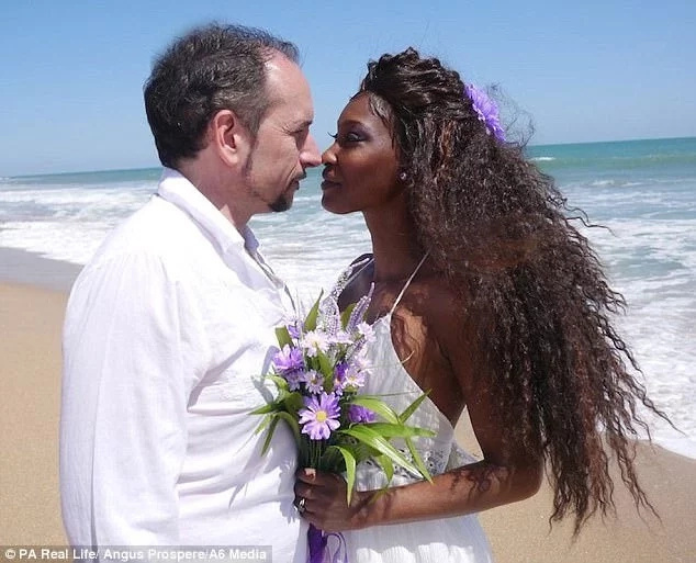It was like a fairy-tale! Woman marries man who paid Ksh10,000 for her on dating website (photos)