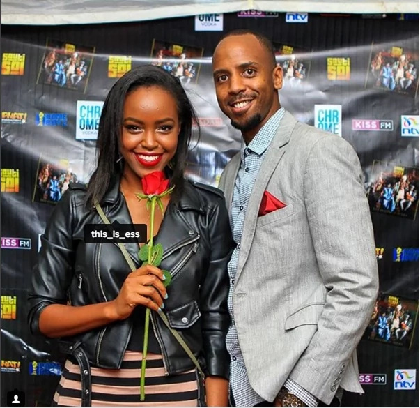 Citizen TV's Janet Mbugua shows off her boob tattoo