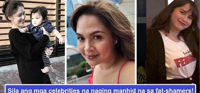 Matataba daw sila! 5 celebs who experienced fat-shaming in the most unimaginable manner