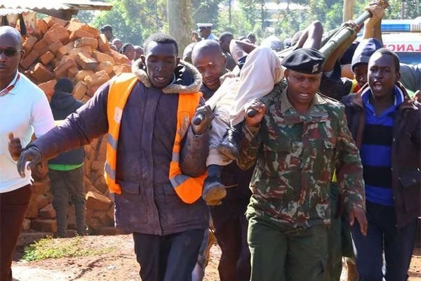 Death toll from collapsed building in Kisii rises as rescue operations continue