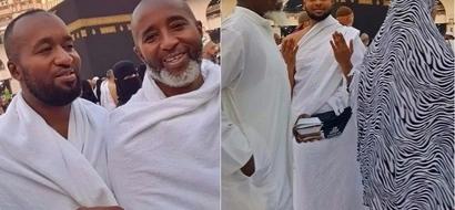 Gavana wa Mombasa aandamana na 'mwanawe' katika ziara yake Mecca