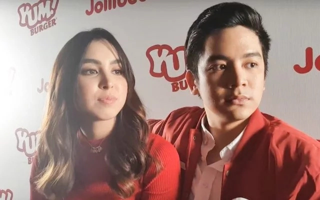 Joshua Garcia says there's no awkwardness between Loisa Andalio and him
