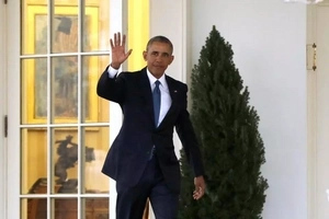 Obama says only these 2 words as he paved way for 45th US President Donald Trump