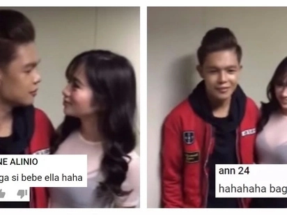 Xander Ford meets his other celebrity crush: Ella Cruz! Natulala na lang si Ella sa kagwapuhan ni Xander!