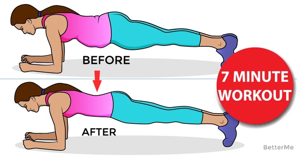 The advanced 7-minute workout for your whole body