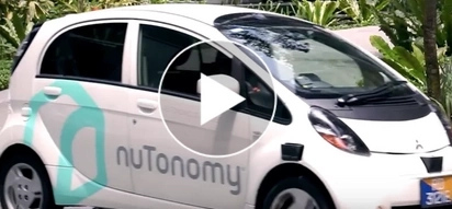 Future is here! FIRST driverless TAXI in Singapore