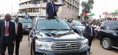 Meet 24-year-old woman who repairs President Uhuru's vehicles (photos)