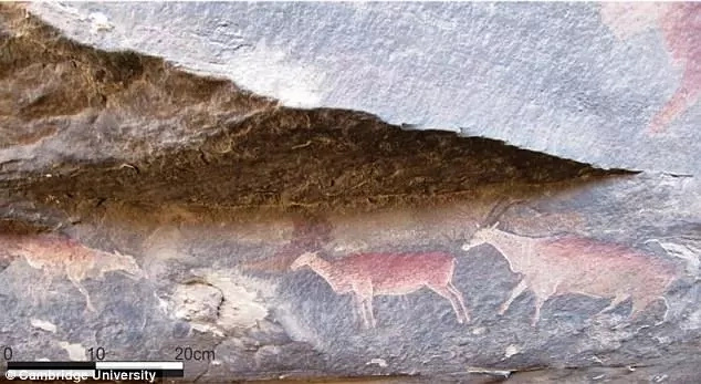 Researchers reveal that Southern African oldest rock art dates back more than 5,000 years (photos)