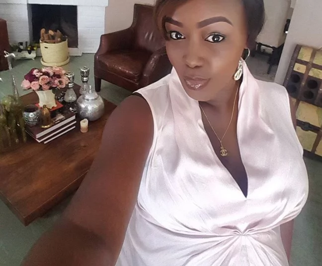 Talaa, uhm, not Tialala: Ex- Citizen TV's Terryanne Chebet chooses a really unique name for her 1-week old daughter