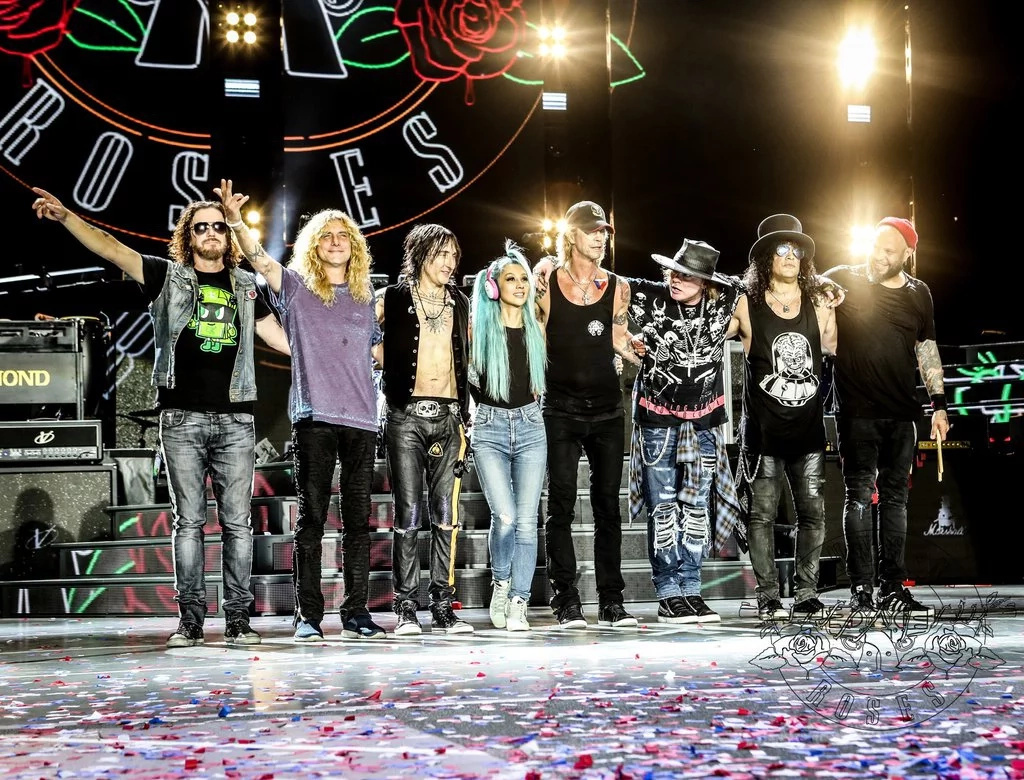 Es oficial: Guns N' Roses tocará en Medellín