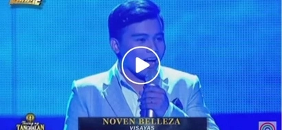 Rice farmer Noven Belleza hailed as 'Tawag ng Tanghalan' grand champion