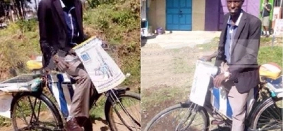 Confident AF: MP aspirant who campaigns on an old bicycle warns rich aspirants to be ready for battle