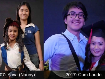 Netizen shares how his son's nanny for 11 years finished college and graduated as CumLaude
