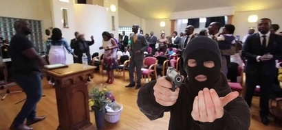 Prayer turned into nightmare! Armed robbers steal money from congregation