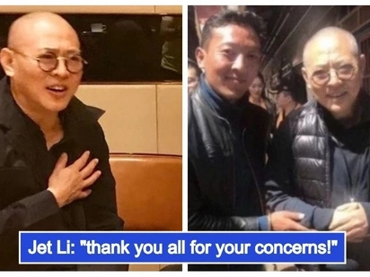 Ang totoong kalagayan! Jet Li finally breaks his silence on his viral photo that worried his fans