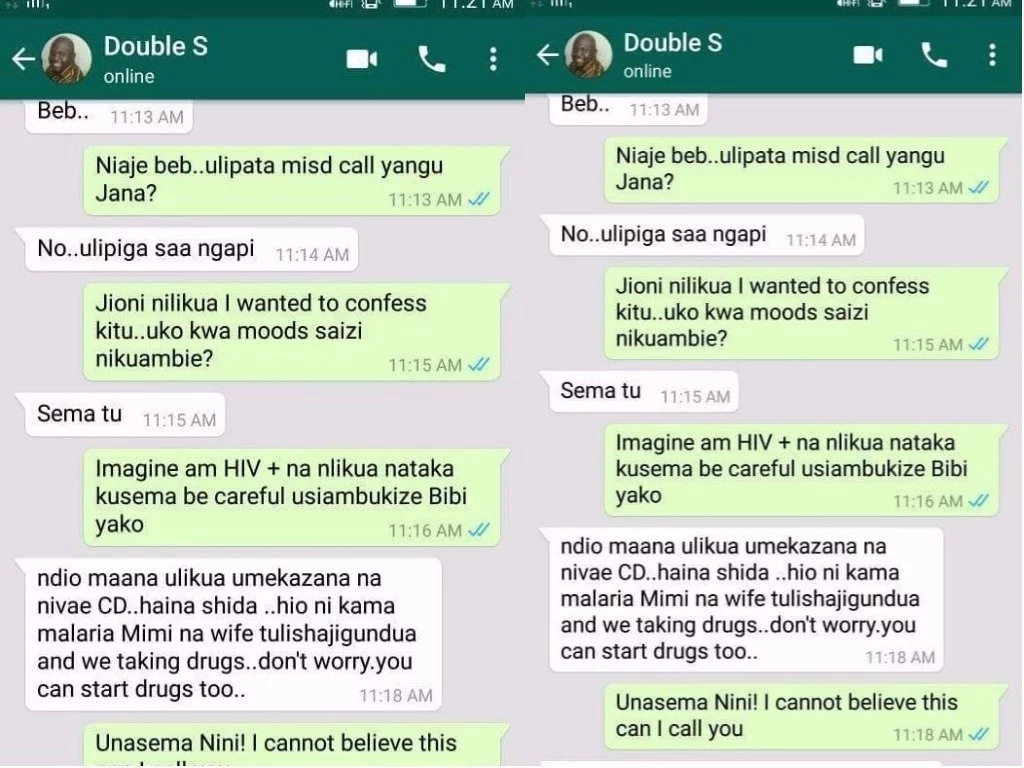 """I wanted to tell you that I'm HIV+,"" Side Chick breaks news to a married man but is not ready for his reply"