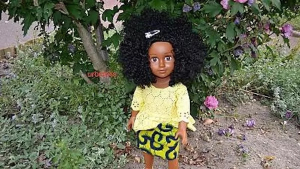 More doll makers are promoting black dolls with the message that black is beautiful. Photo: Africa News