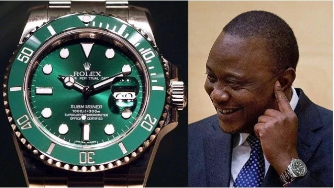 Uhuru Kenyatta aside, this is the KSh 2.1 million wrist watch that Hassan Joho wears