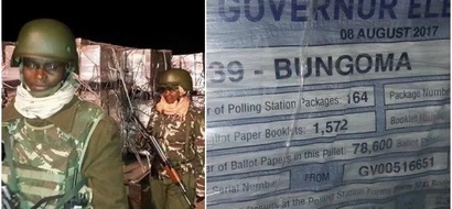 Ballot papers arrive in the country under the cover of darkness (photos)