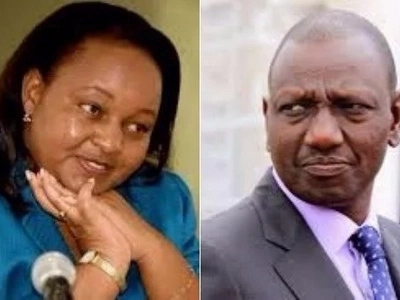 Cat-walking extraordinaire: Waiguru receives DP Ruto in Kirinyaga ahead of her swearing in ceremony (photos)