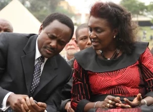 Kalonzo Musyoka dedicates international award to his wife