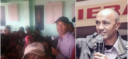 Panic after police officers shoot near Peter Kenneth's meeting