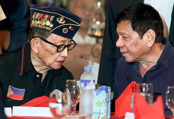 Duterte names FVR as drug-list informant