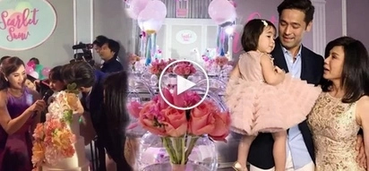 Bongga! Scarlet Snow's 2nd birthday celebration will make your jaws drop! See it to believe it!
