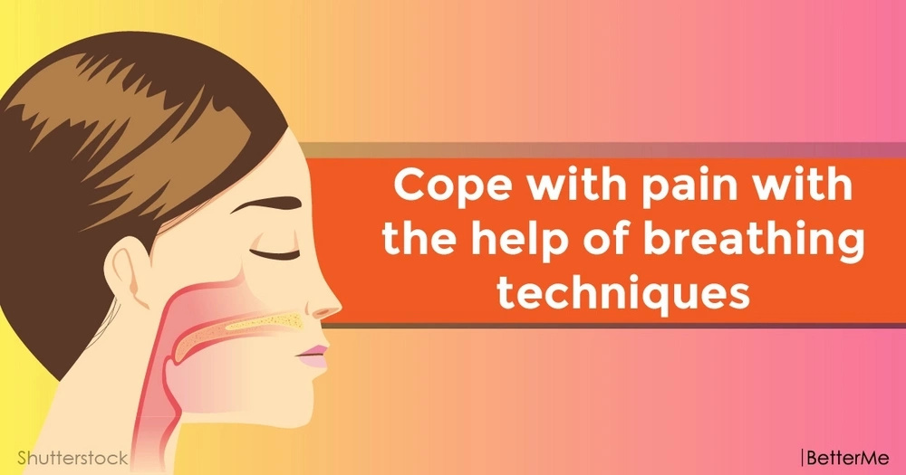 Cope with pain with the help of breathing techniques