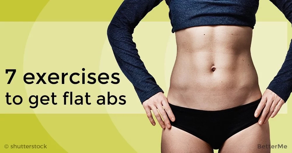 7 exercises you should do to get flat abs