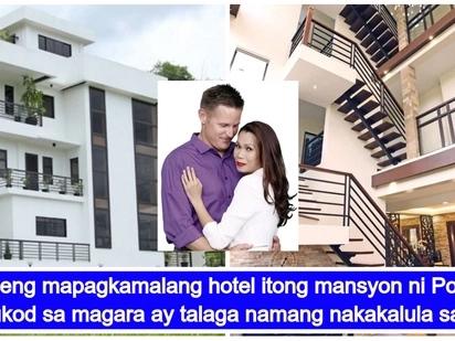 Ang mansyon ni Mamang! Pokwang at ang kanyang apat na palapag na bahay sa Antipolo