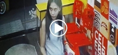 Grabe si ate! Woman attempts to switch bills to ask for more money from Red Ribbon