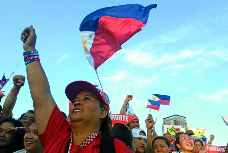 300,000 attendees in Duterte victory celebration