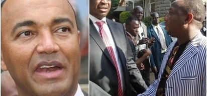 Independent gubernatorial aspirant Peter Kenneth slapped with a dose of 'reality' by ODM rebel who also lost in nominations