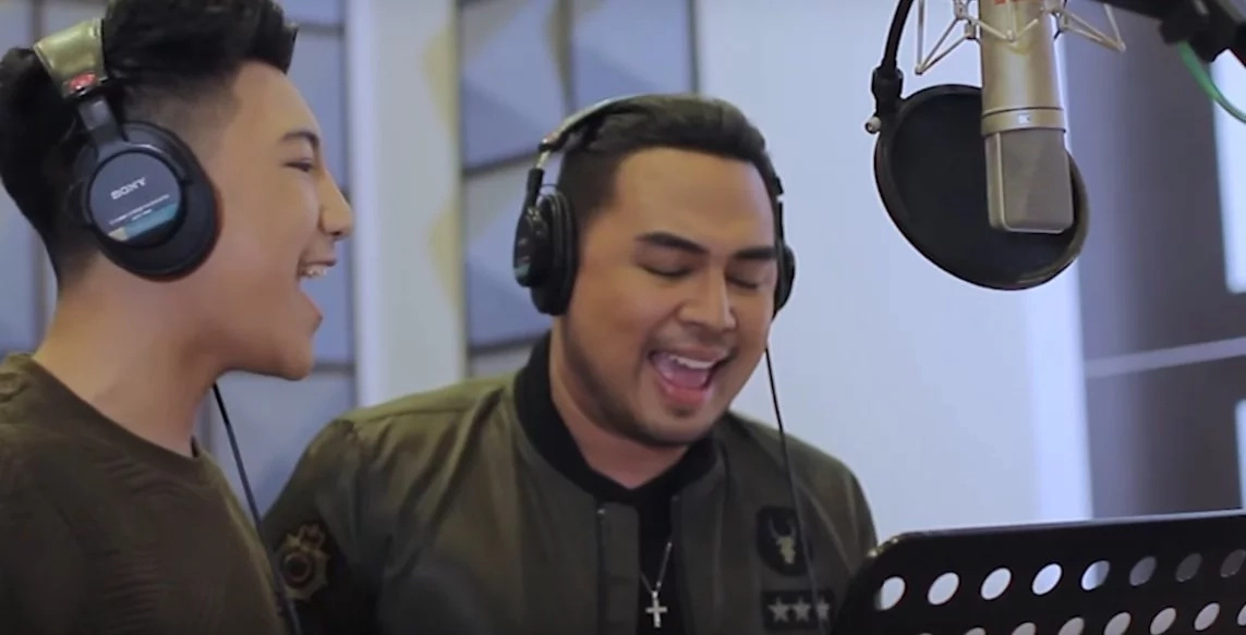Sobrang galing nilang dalawa! Jed Madela, Darren Espanto breaks internet with powerful song cover