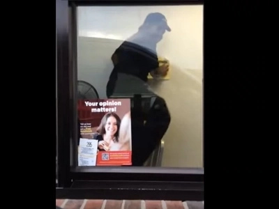 Hilarious Video Shows McDonald's Employee Freaking Out Over A Spider