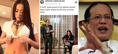 Dilawan alert! Mocha Uson once dreamt of dancing with Noynoy Aquino on her show