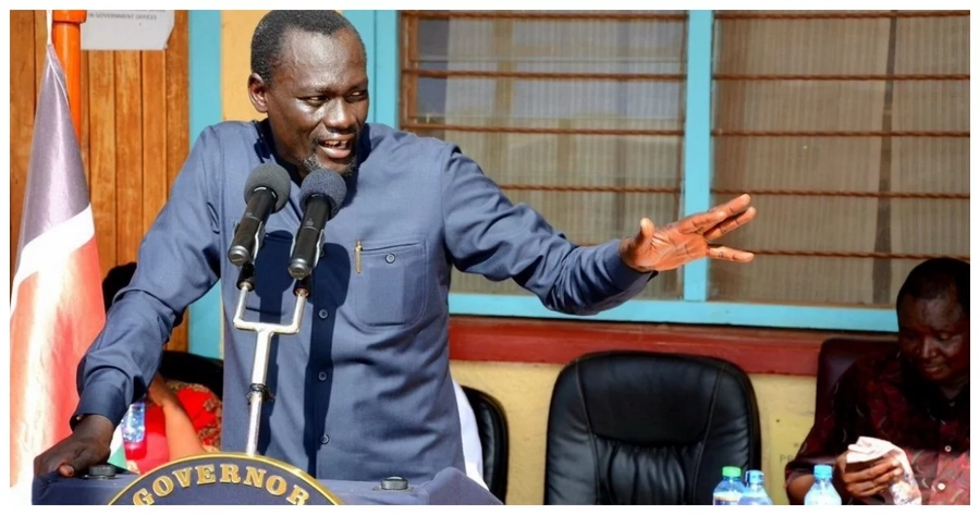Outgoing COG Chair Josphat Nanok confirms Jubilee governor as his replacement
