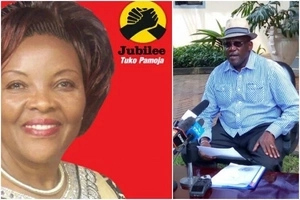Blow to Muthama as Jubilee hands his WIFE nomination certficate for Machakos race