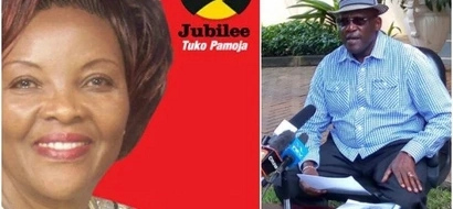 Muthama FINALLY speaks after ex-wife was handed Jubilee nomination certificate